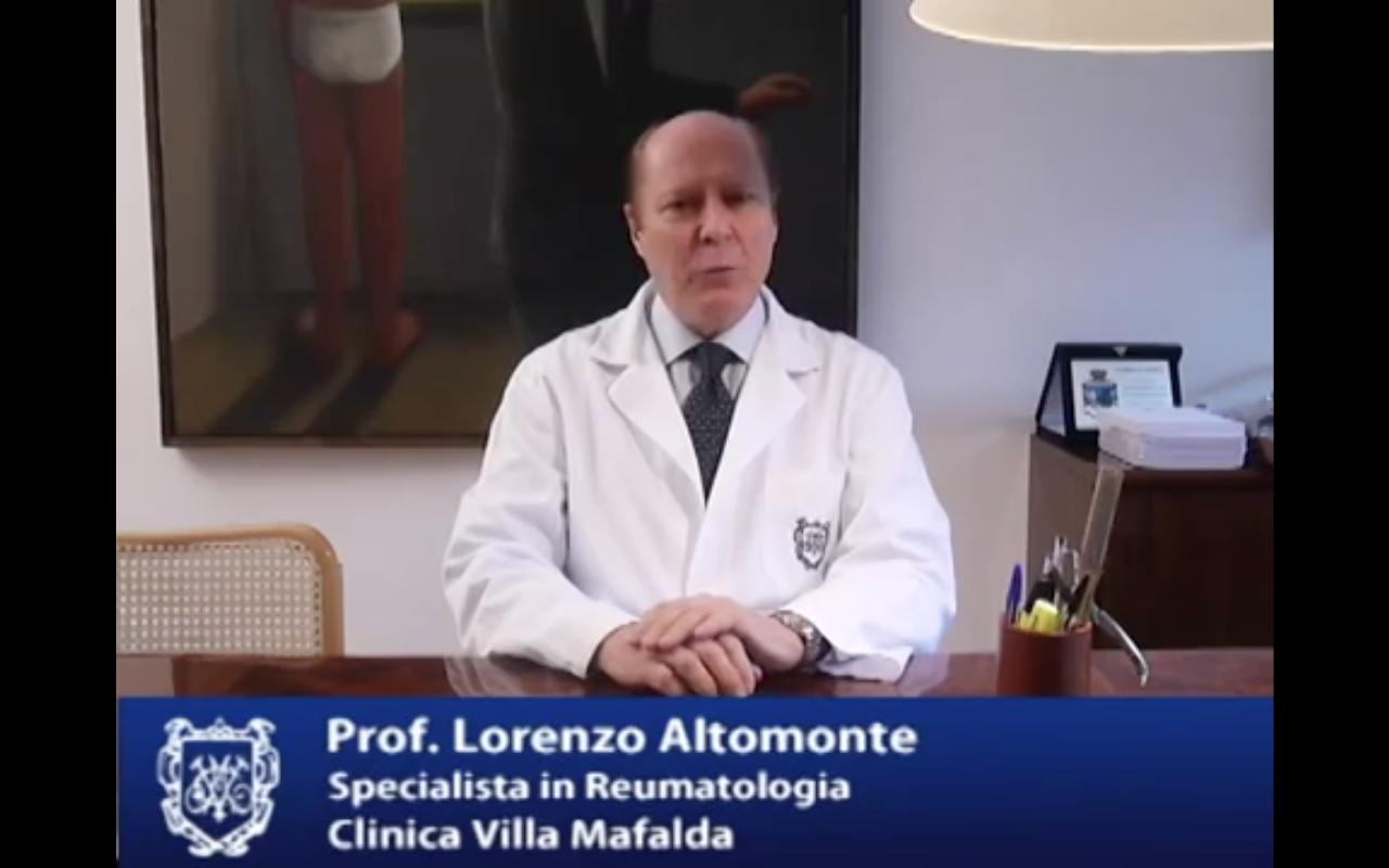 Prof. Lorenzo Altomonte: che cos'è la reumatologia