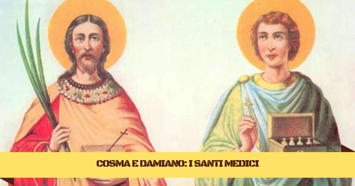 COSMA E DAMIANO- I SANTI MEDICI