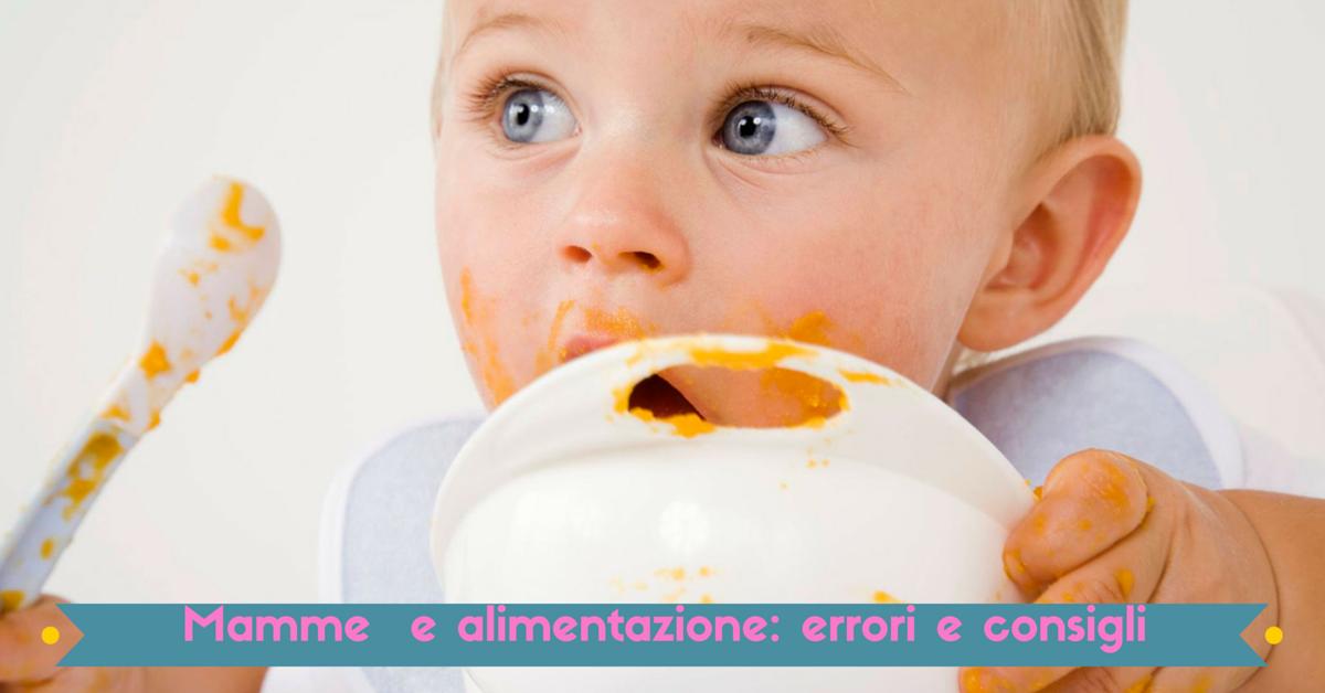 Mamme italiane ed alimentazione