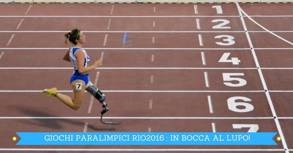 Paralimpiadi di Rio al via, in bocca al lupo a tutti!