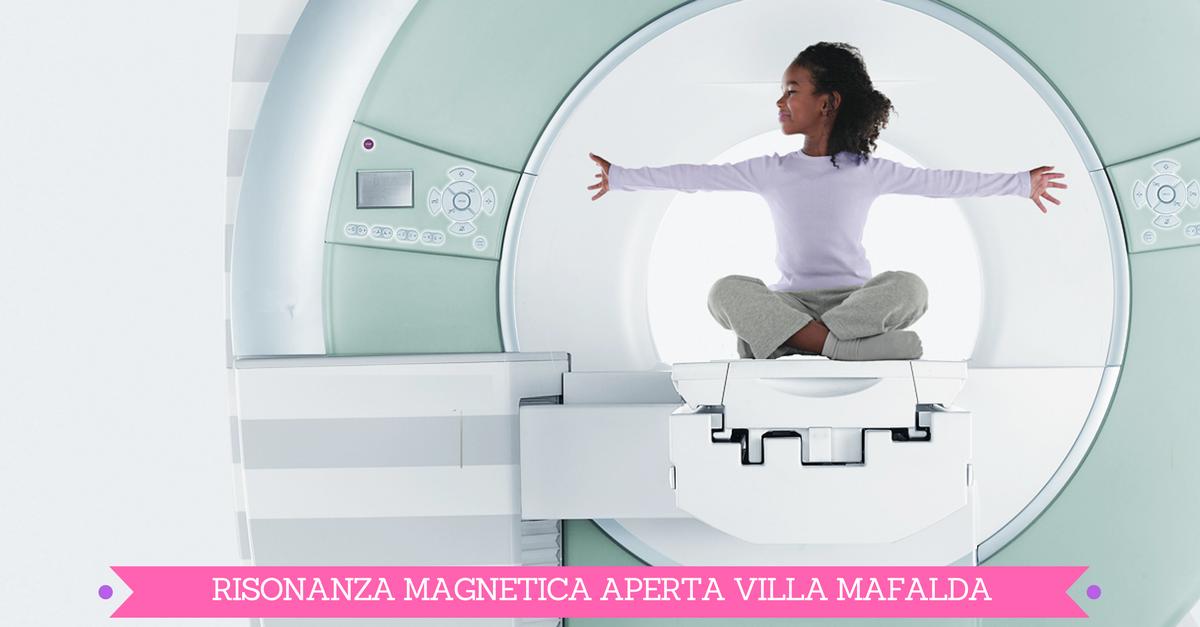 Risonanza magnetica a Villa Mafalda