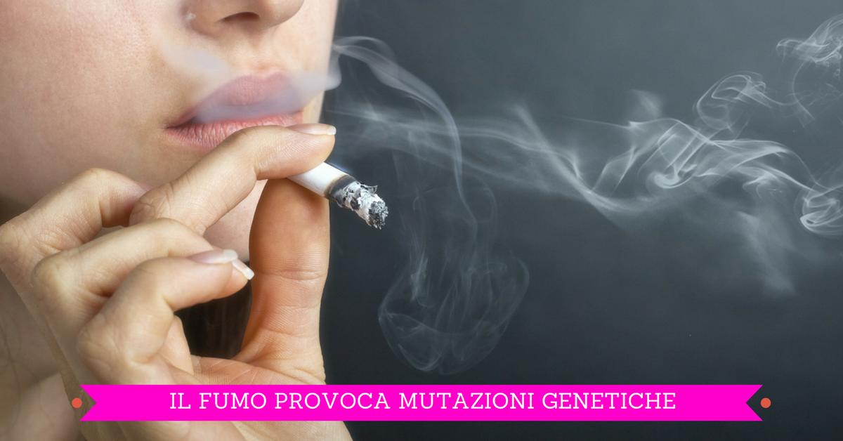 "Polmoni ""geneticamente mutati"" dal fumo"