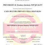 Villa Mafalda Top Quality certificazione