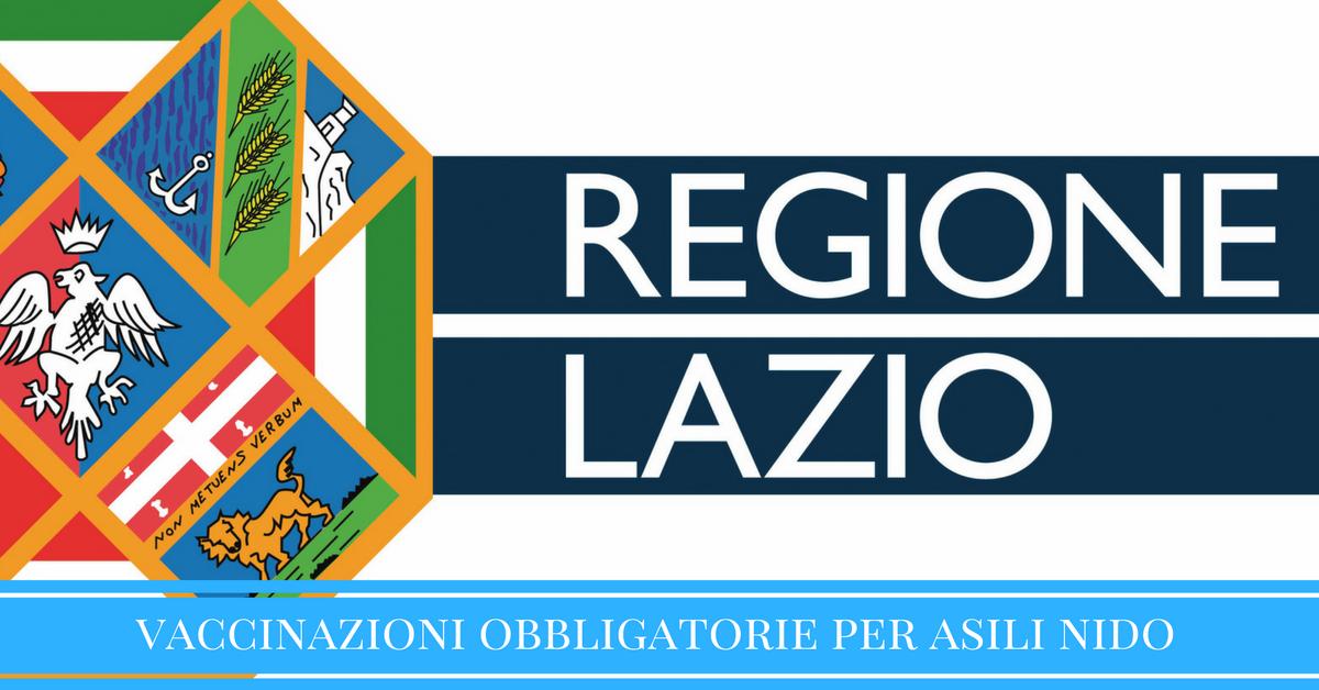 Obbligo di vaccinazione anche nel Lazio, la proposta