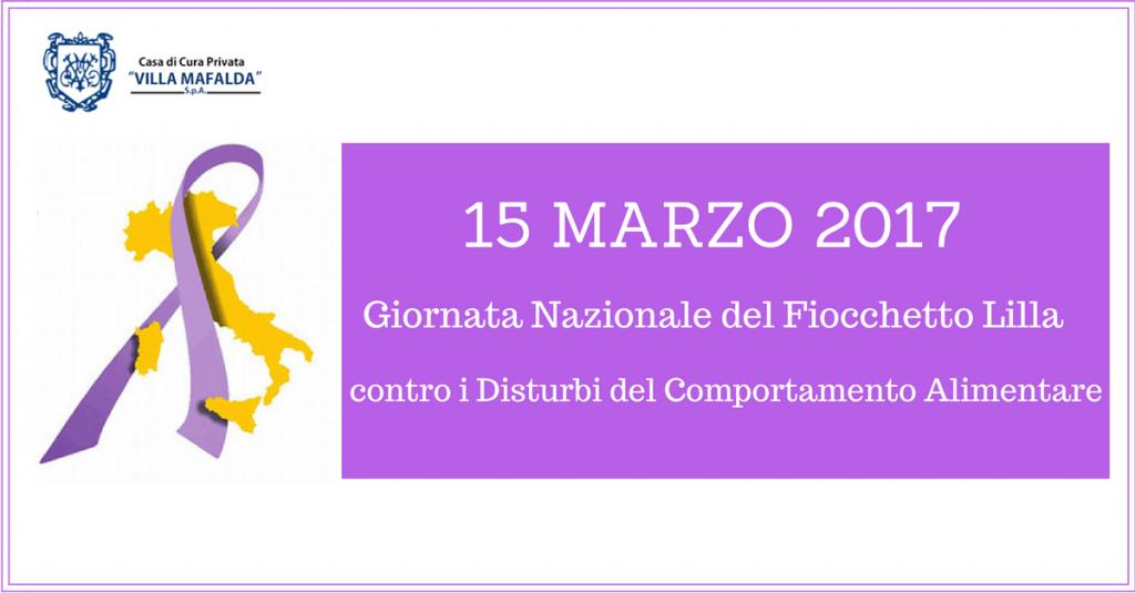 Giornata Nazionale del Fiocchetto Lilla-Villa Mafalda Blog