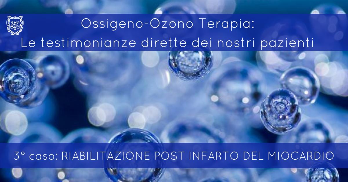 Ossigeno-Ozono Terapia, Riabilitazione post infarto al miocardio