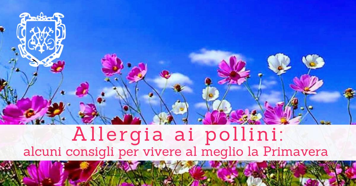Allergia ai pollini: come alleviare i sintomi