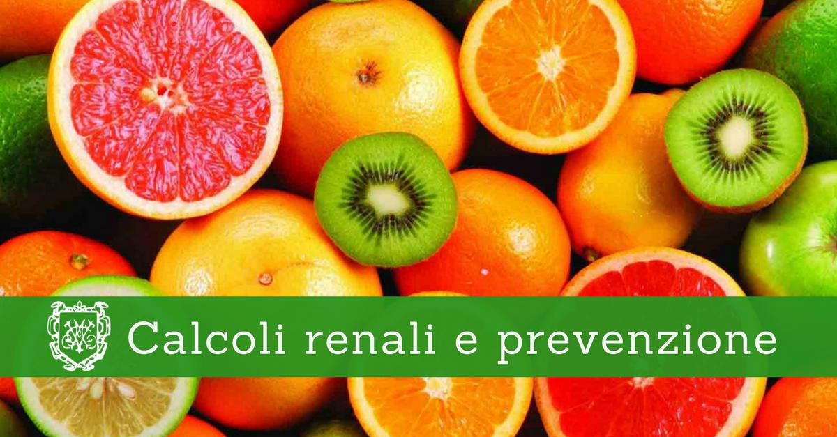 Calcoli renali e prevenzione