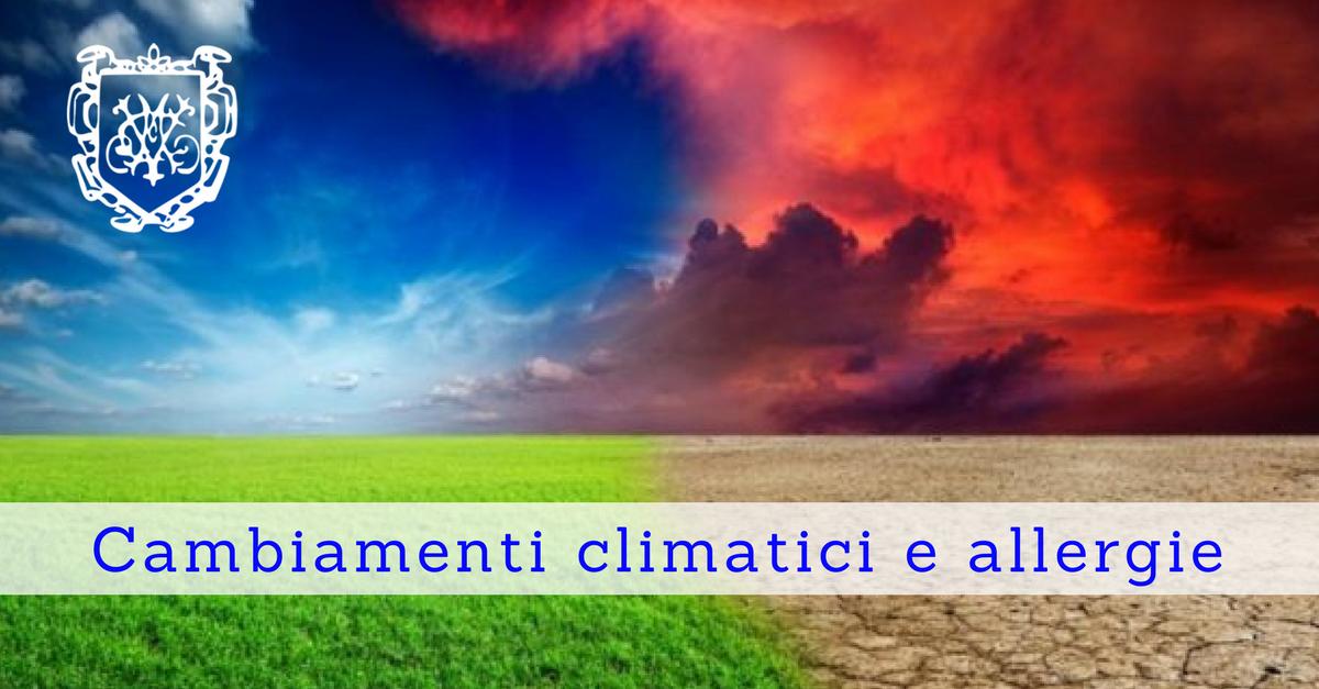 Cambiamenti climatici e allergie