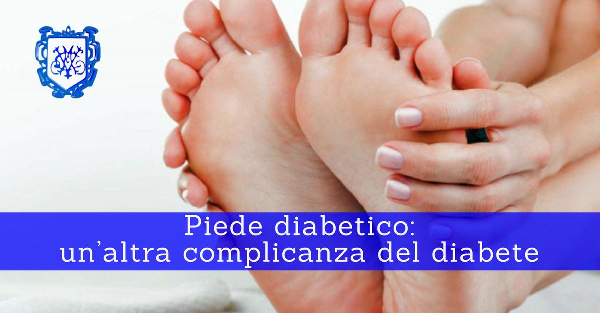 Piede diabetico, un'altra complicanza del diabete