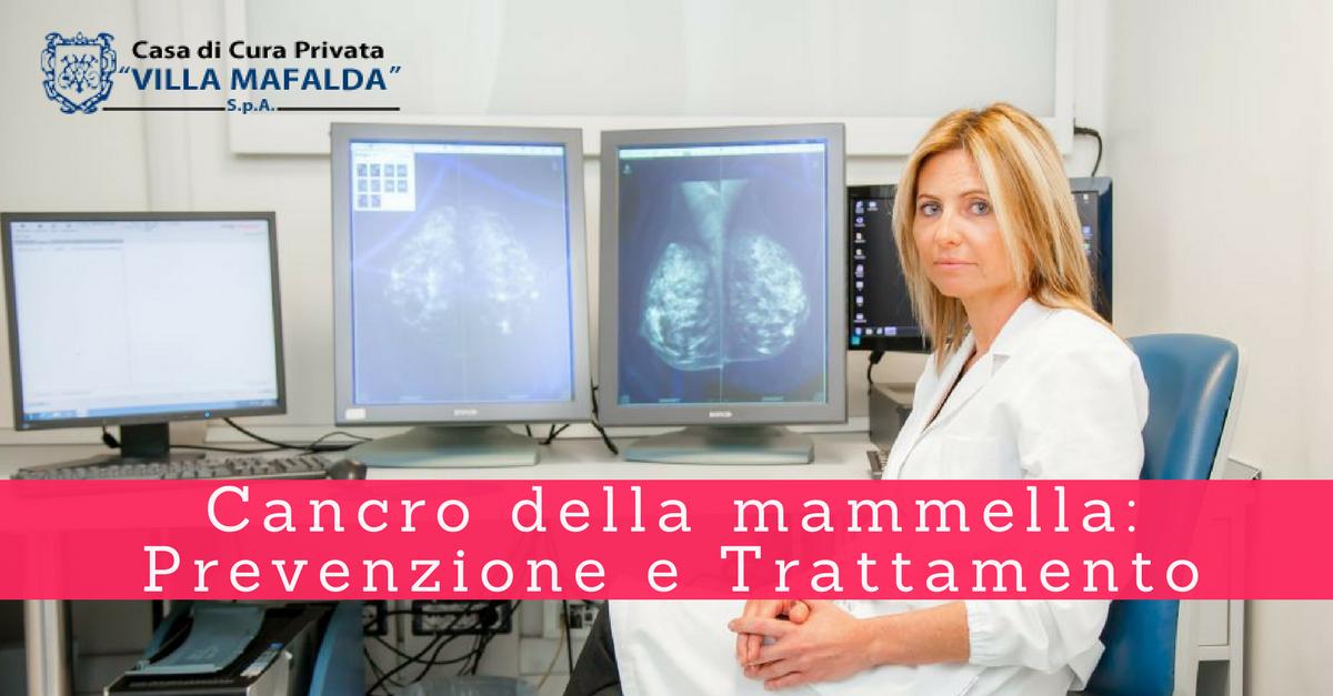 Cancro della mammella: prevenzione e trattamento