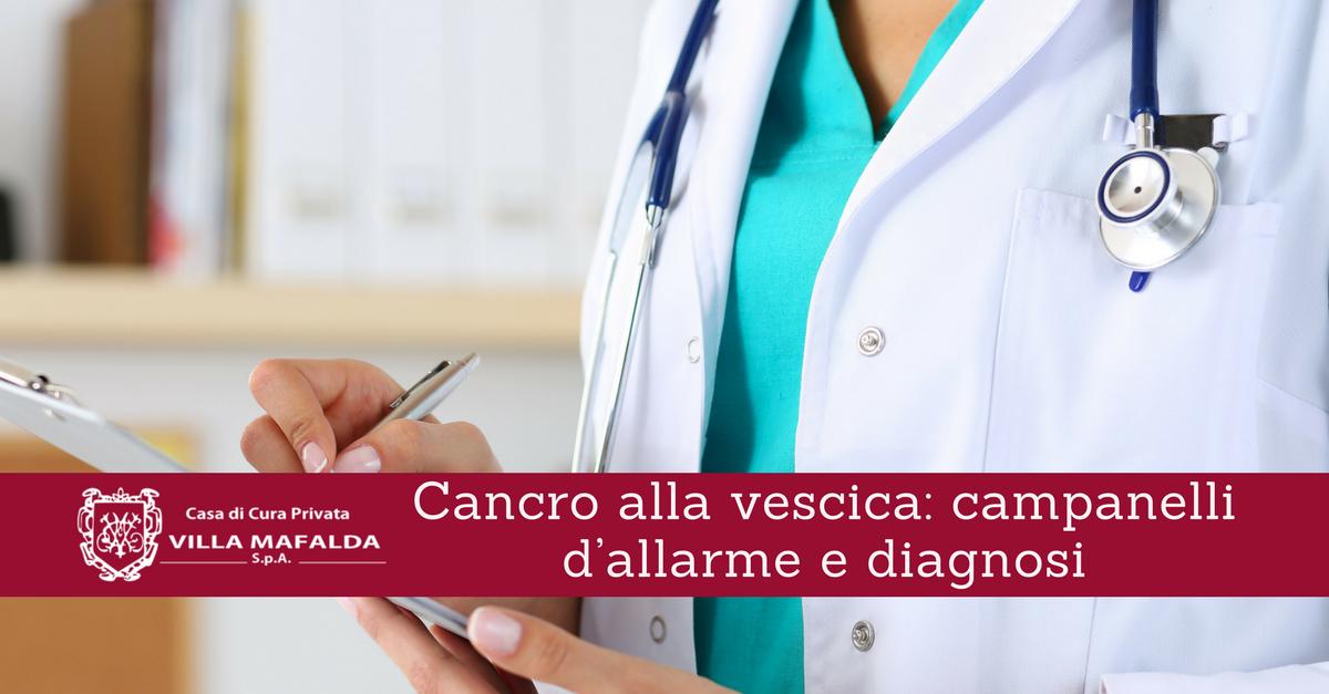 Cancro alla vescica: campanelli d'allarme e diagnosi