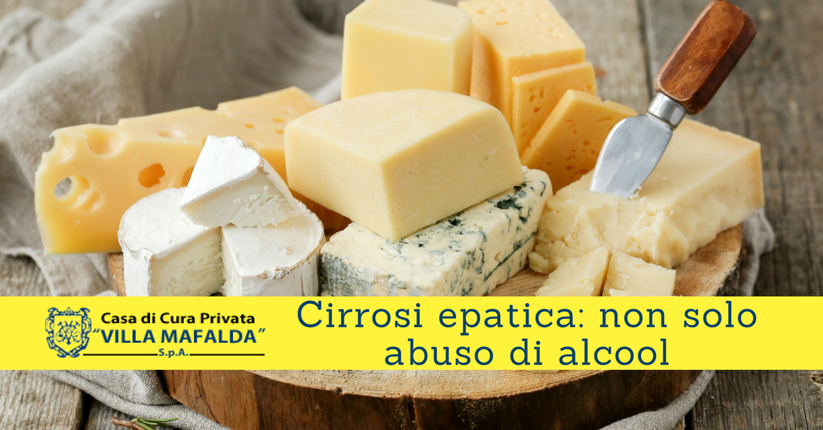 Cirrosi epatica: non solo abuso di alcool
