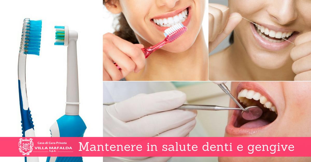 Salute di denti e gengive: alcune utili norme