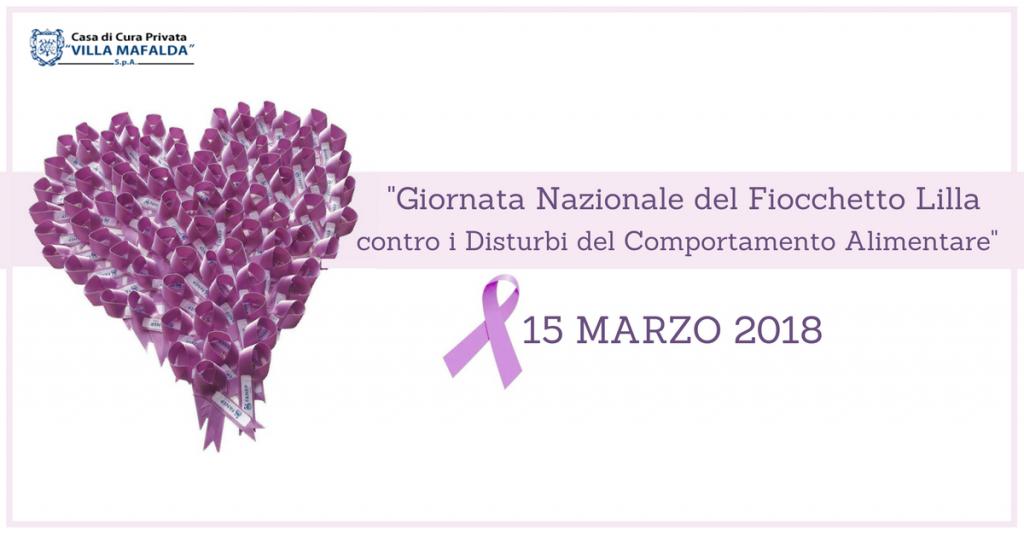 Disturbi del Comportamento Alimentare Giornata nazionale 2018 - Casa di Cura Villa Mafalda di Roma - Villa Mafalda Blog