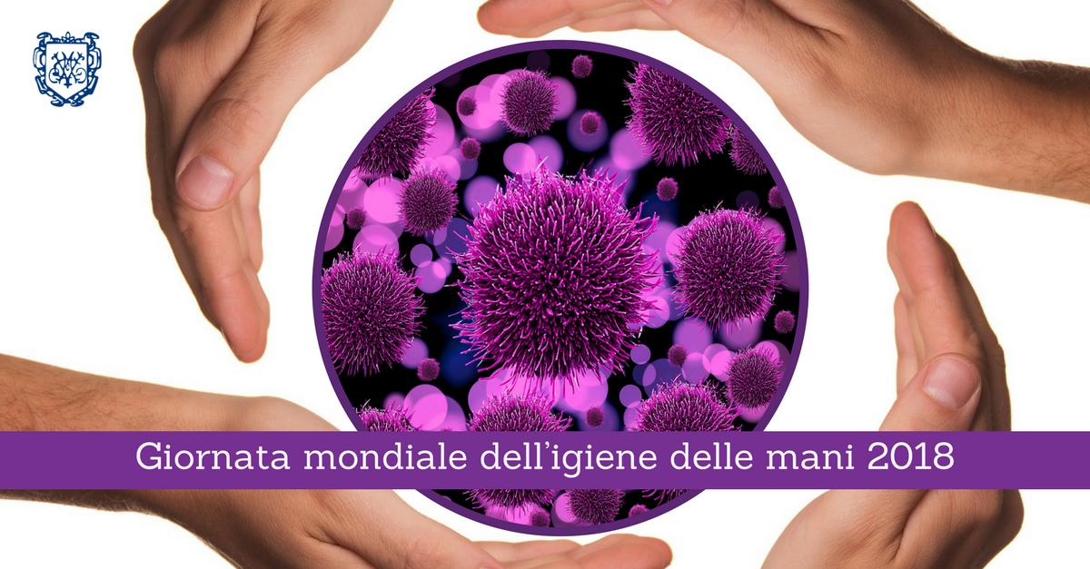 Igienizzazione delle mani: Giornata mondiale 2018
