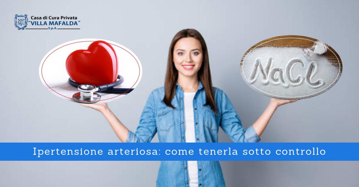 Ipertensione arteriosa: come tenerla sotto controllo