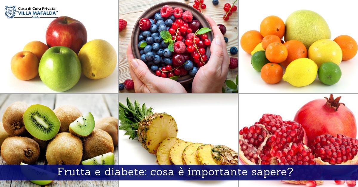 Frutta e diabete: cosa è importante sapere?