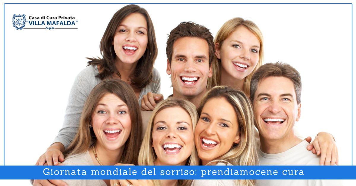 Giornata mondiale del sorriso: prendiamocene cura