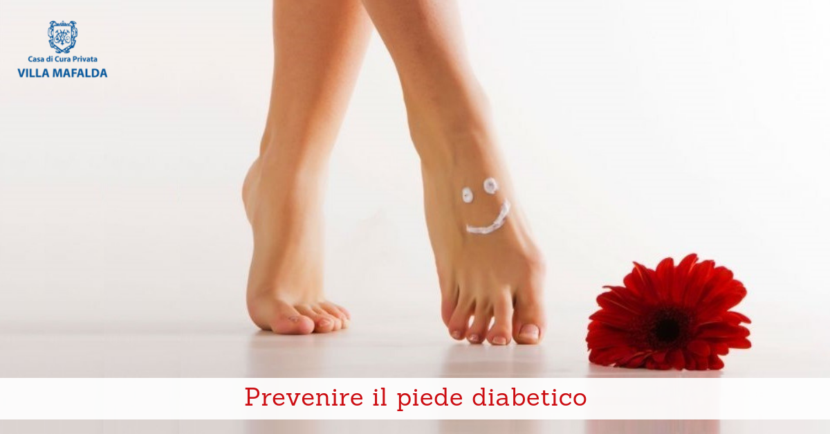 Prevenire il piede diabetico