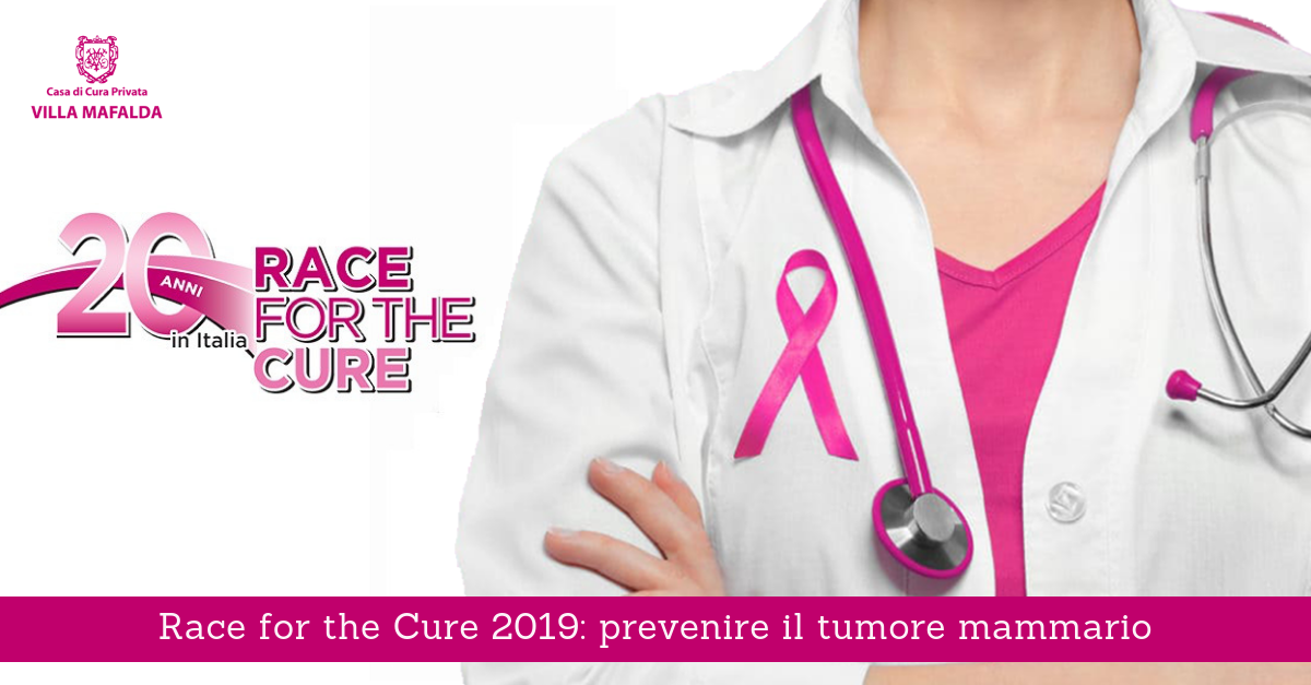 Race for the Cure 2019, prevenzione del tumore mammario - Villa Mafalda Blog