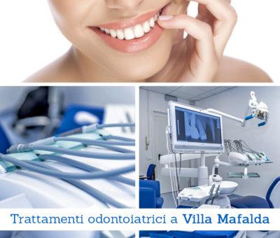 Trattamenti odontoiatrici a Villa Mafalda