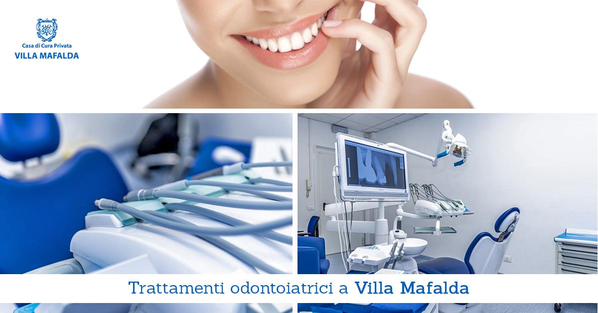 Trattamenti odontoiatrici a Villa Mafalda - Casa di Cura Villa Mafalda di Roma