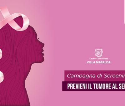Campagna di Screening per il Tumore alla mammella