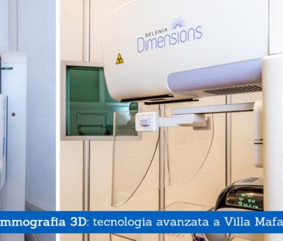 Mammografia 3D: tecnologia avanzata a Villa Mafalda