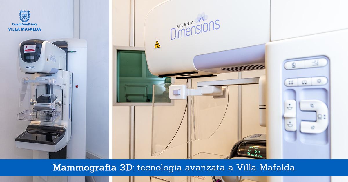Mammografia 3D, tecnologia avanzata a Villa Mafalda - Casa di Cura Villa Mafalda di Roma - Villa Mafalda Blog