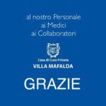 Al nostro Personale, ai Medici e ai Collaboratori... Grazie - Casa di Cura Villa Mafalda di Roma - Villa Mafalda Blog