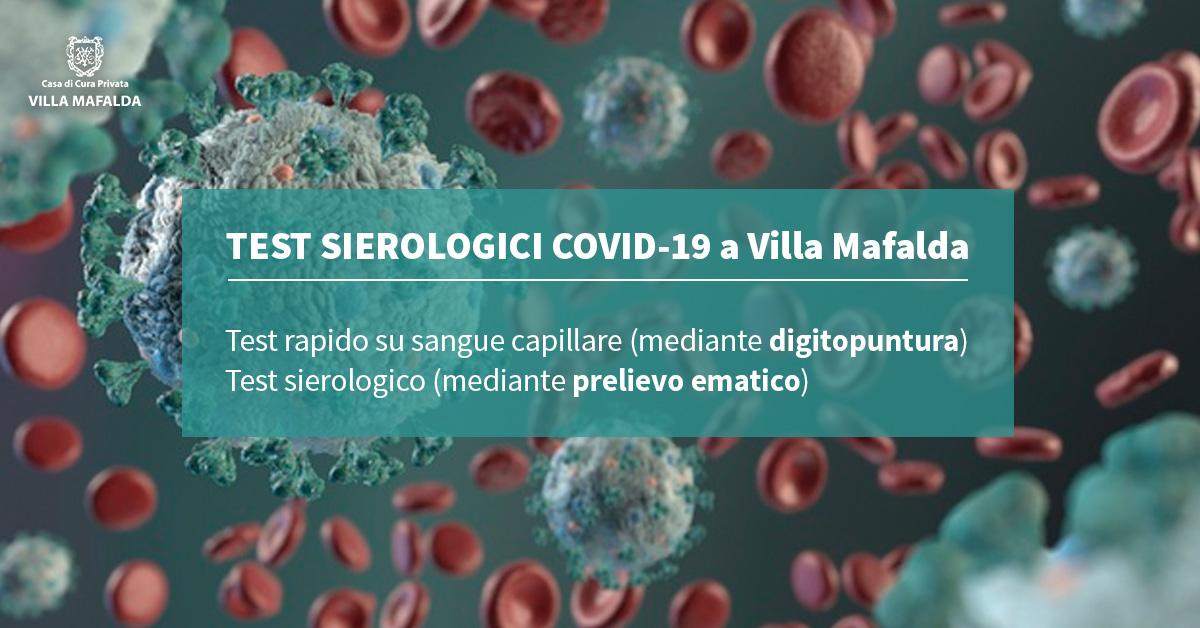 Test sierologici per Covid-19 a Villa Mafalda - Casa di Cura Villa Mafalda di Roma - Villa Mafalda Blog