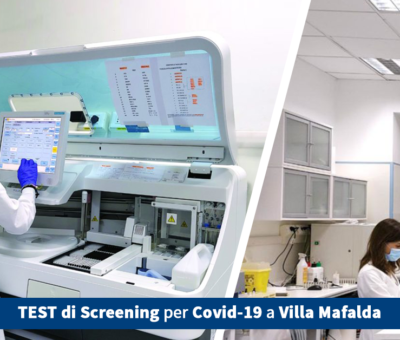 Test di screening per Covid-19 a Villa Mafalda