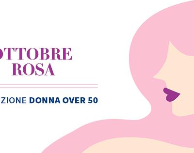 Ottobre Rosa: Pacchetto Prevenzione Donna Over 50