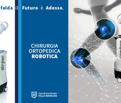 Chirurgia Ortopedica Robotica a Villa Mafalda