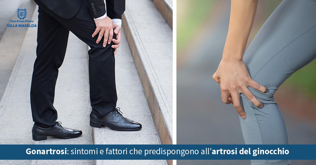 Gonartrosi, sintomi e fattori che predispongono all'artrosi del ginocchio - Casa di Cura Villa Mafalda di Roma - Villa Mafalda Blog